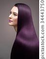 woman, hair, straight 34443750
