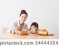 面包 吃 品尝 34444354
