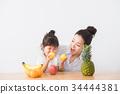 水果 飲食教育 餐桌 34444381