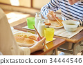 พักรับประทานอาหารกลางวันที่โรงเรียนประถม 34444546
