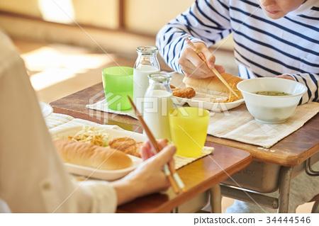 초등학교 급식 점심 시간 34444546