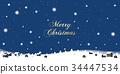 snowfall, snowfalls, snow scene 34447534