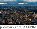 都市风景在东京的心脏 34448961