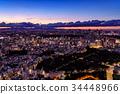 都市风景在东京的心脏 34448966