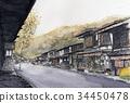 Naraijiri Shikotsu-machi Nakasendo-dōkan sightseeing 34450478
