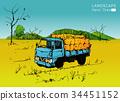 Farm tractor 34451152