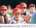 Elementary school physical education ground 34451571