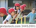 นักเรียนประถม,พลศึกษา,โรงเรียนอนุบาล 34452001