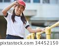 เด็กผู้หญิง,พลศึกษา,โรงเรียนอนุบาล 34452150