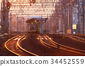 railroad, railway, track 34452559