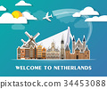 Netherlands Landmark Global Travel And Journey. 34453088