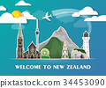 New Zealand Landmark Global Travel And Journey. 34453090