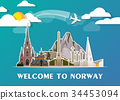Norway Landmark Global Travel And Journey. 34453094