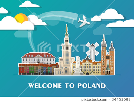 Poland Landmark Global Travel And Journey. 34453095