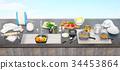utensils, table, kitchen 34453864