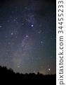 별자리, 밤하늘, 별 밤 34455233