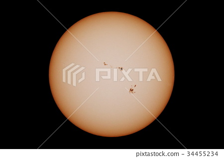 太陽黑子 34455234