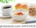 breakfast, yogurt, cofee 34455936