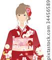 kimono, female, females 34456589