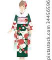 kimono, female, females 34456596