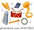 Instruments Elements Illustration 34457803