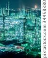 水島聯合 工廠 工廠夜景 34458380