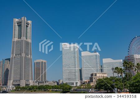 從環球影城看到的橫濱港未來城市景觀 34459358