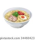 豬骨湯拉麵 食物 食品 34460423