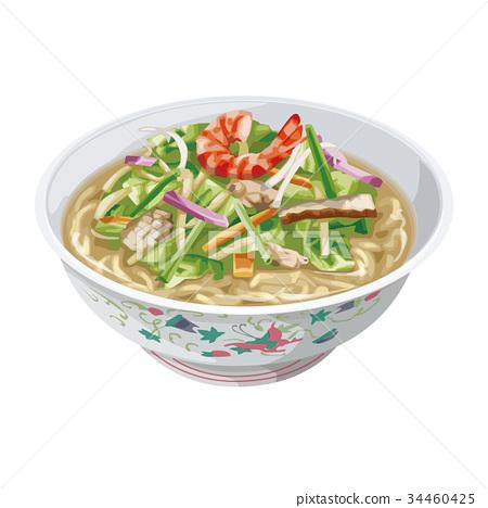 什锦面 食物 食品 34460425