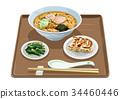 中国荞麦面饺子 34460446