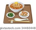 miso, ramen, dumpling 34460448