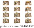 中国面条饺子 34460457