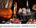 Halloween meringue ghost 34461535