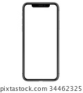 iphone, vector, front 34462325