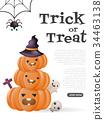Halloween Background Vector background 34463138