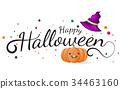 Halloween Background Vector background 34463160