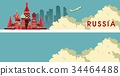 russia, travel, banner 34464488