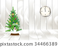 Christmas tree and wooden Holiday Christmas 34466389