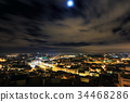 Night view over Lisbon, Portugal 34468286