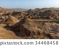 Large colorful mountains in China 34468458