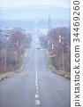 shiretoko, straight path, road 34469260