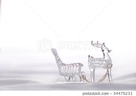 聖誕裝飾 馴鹿 聖誕樹 34470231