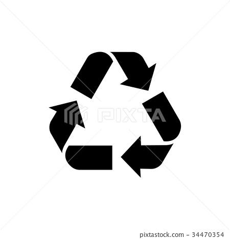 回收圖標 34470354