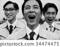 公司職員 工薪族 上班族 34474475