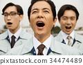公司職員 工薪族 上班族 34474489