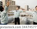 公司職員 工薪族 上班族 34474577