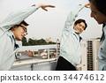 公司职员 职员 上班族 34474612