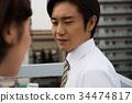 昭和辦公室工作人員愛 34474817