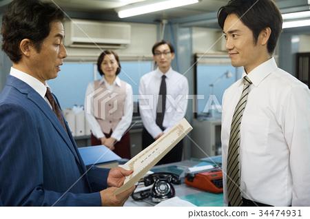 昭和办公室工作者景观 34474931
