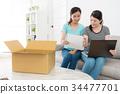 亚洲 亚洲人 盒子 34477701